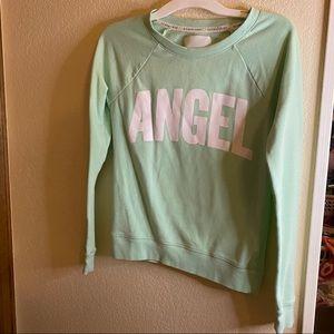 Angel mint green crewneck